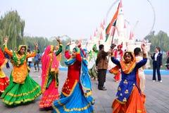 北京国际旅游业和文化节日 库存图片