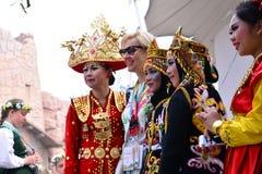 北京国际旅游业和文化节日 库存照片