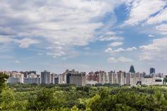 北京地平线视图 免版税库存图片
