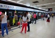 北京地铁在北京,中国 免版税库存照片