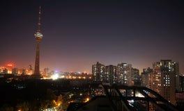 北京夜 免版税库存照片