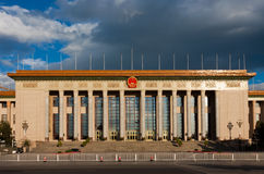北京大厅人 库存照片