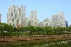 北京大厦 库存照片