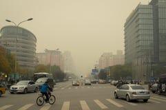 北京大气污染2 库存图片
