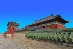 北京天坛皇帝寺庙 免版税库存图片