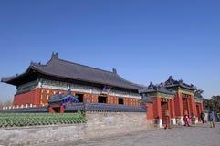 北京天坛皇帝寺庙 图库摄影