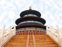 北京天堂寺庙 库存照片