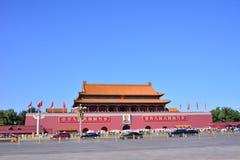 北京天安门 免版税库存图片