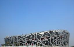 北京奥林匹克体育场 免版税库存照片