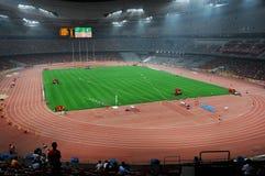 北京奥林匹克statium 免版税库存图片