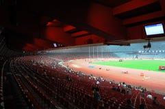 北京奥林匹克statium 免版税库存照片
