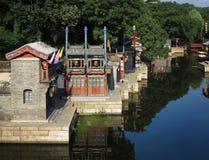 北京宫殿街道夏天苏州 库存图片