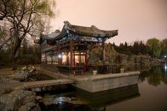 北京小船瓷石星期日寺庙 免版税库存照片