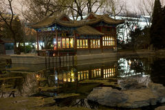 北京小船石头星期日寺庙 库存图片
