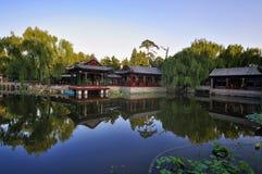 北京庭院宫殿夏天 图库摄影