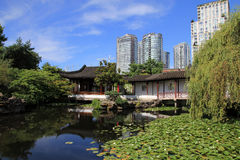 北京庭院宫殿夏天 库存图片