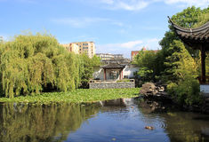 北京庭院宫殿夏天 免版税图库摄影