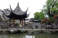 北京庭院宫殿夏天 免版税库存图片