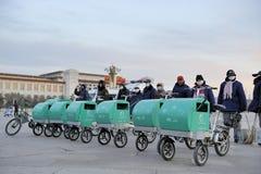北京擦净剂街道 免版税库存照片