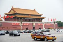 北京方形天安门业务量 库存图片