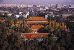 北京早晨 免版税库存图片