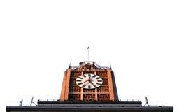 北京时钟查出的塔 免版税图库摄影