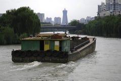 北京杭州大运河 免版税库存图片