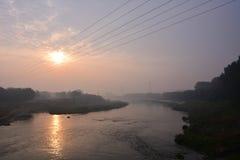 北京杭州重创的Canale 免版税库存照片