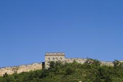 北京极大的jingshanlin墙壁 图库摄影
