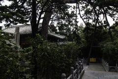 北京潭则寺庙风景  库存照片