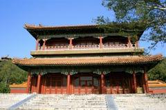 北京瓷中国人寺庙 库存照片
