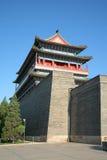 北京瓷前门正方形天安门 库存照片