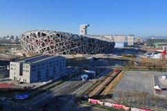 北京瓷国民体育场 库存图片