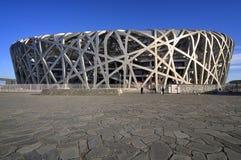 北京瓷国民体育场 库存照片