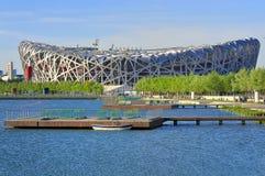 北京瓷国民体育场 免版税图库摄影