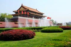 北京瓷正方形天安门 免版税图库摄影