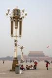 北京瓷正方形天安门 免版税库存照片