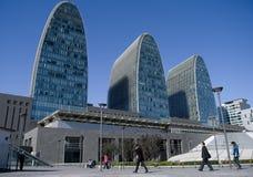 北京瓷正方形xizhimen 库存照片