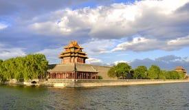 北京瓷禁止的城市云彩 免版税库存照片