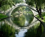 北京瓷门月亮 免版税库存图片