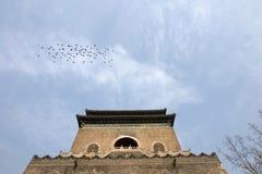 北京瓷鼓塔 免版税库存图片