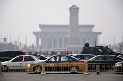 27 2010年北京瓷9月广场被采取的天安门 免版税图库摄影
