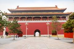北京的天安门大厦风景,在中国 库存图片