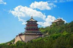 北京皇家宫殿夏天 免版税库存照片