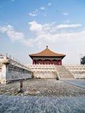 北京禁止的瓷城市 免版税库存图片