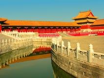 北京禁止的瓷城市 图库摄影