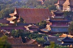 北京紫禁城 库存照片