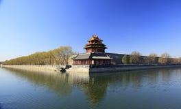 北京紫禁城 库存图片