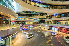 北京著名现代地标大厦星系SOHOï ¼ Œin瓷 图库摄影