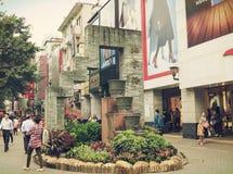 北京道购物街道,北京路步行购物中心在广州中国 库存照片
